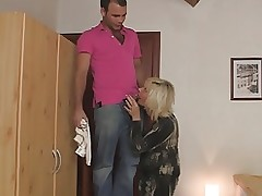 Mother in law seduces him while wife gone video