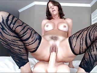Cum Close-up Mature Woman Playing with Her Own Pussy video