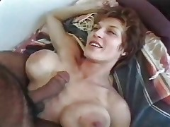 Milf with big tits and ass gets fucked by big dicks video