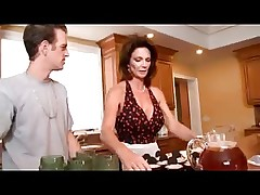 Mature Housewives Seduces Young Lucky Guy video